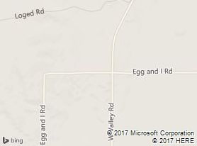 Map of The Egg & I Road